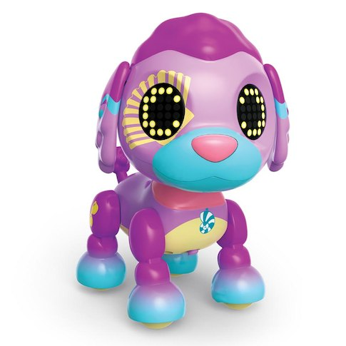 Zoomer Zupps Pretty Sandy. Mascota perrito interactivo de Spin Master en DELFIN Juguetes